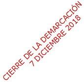 CIRCULAR 2018.58-CIERRE DE LA DEMARCACIÓN 7 DICIEMBRE