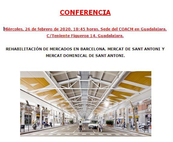 CONFERENCIA 26 FEBRERO 2020 «MERCADOS»