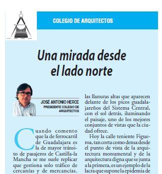 Artículo «UNA MIRADA DESDE EL LADO NORTE» de José Antonio Herce Inés